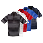 9938 Greg Norman Core Fine Stripe Polo Shirt (KX49)